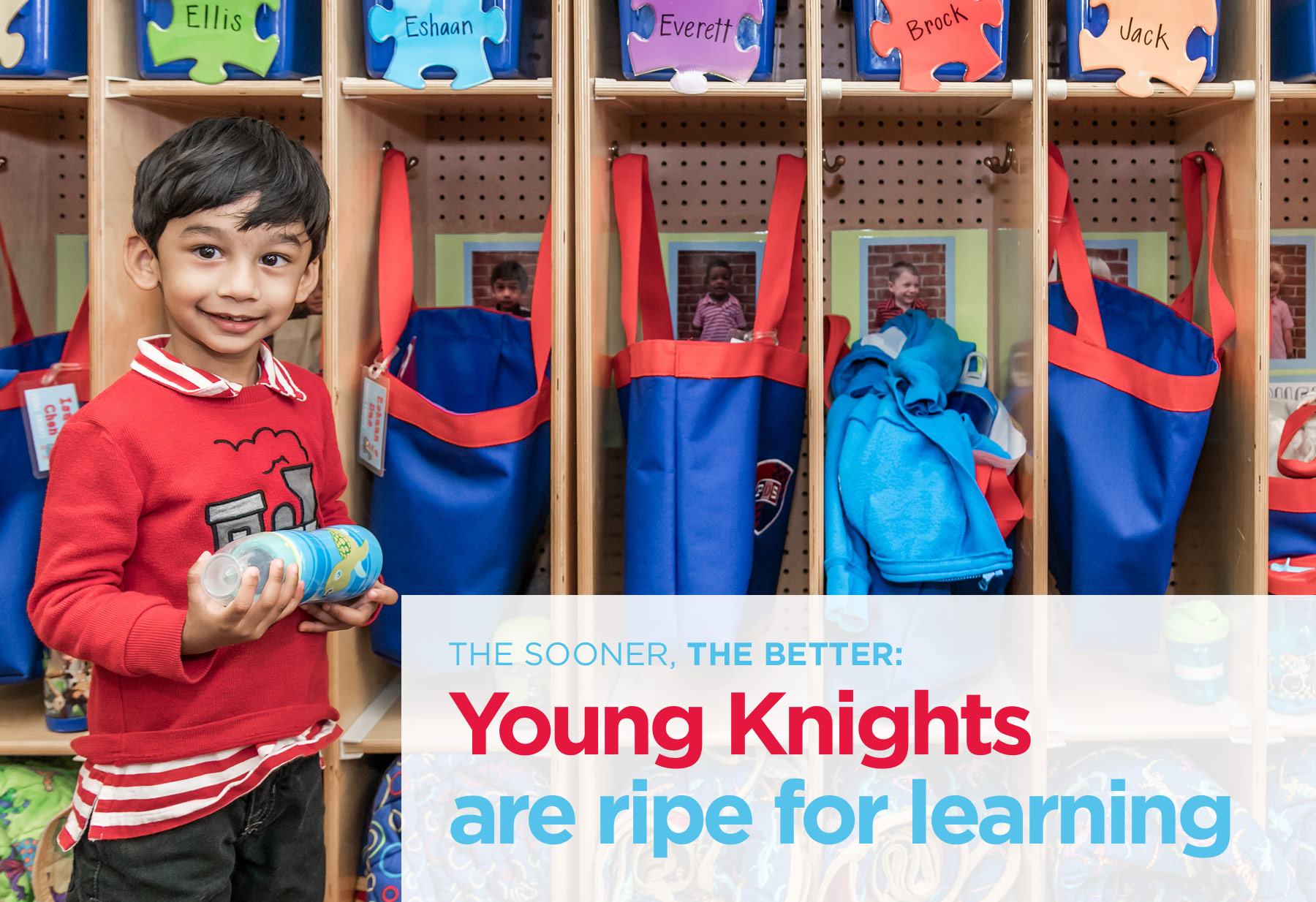 Young Knights are ripe for learning