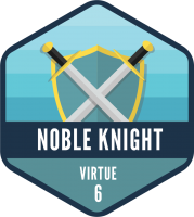 Father/Son Virtue Breakfast - The Noble Knight